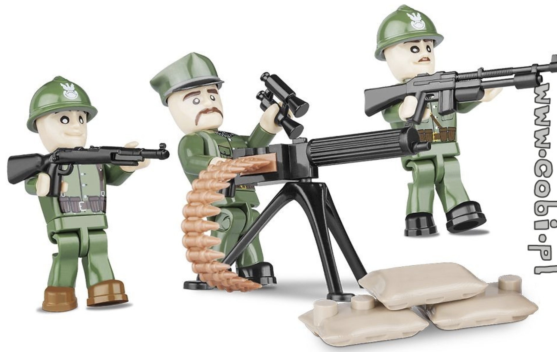 Alternatives to LEGO Minifigures - COBI Small Army Figures