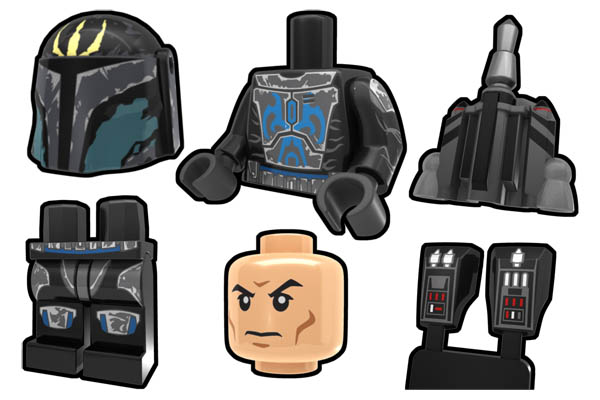 Arealight Pre Vizla Minifigure