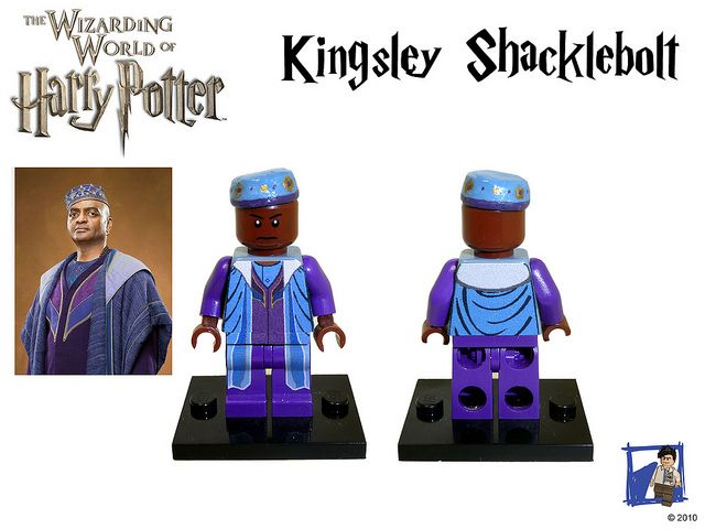 harry potter cmf series 2 kingsley shacklebolt