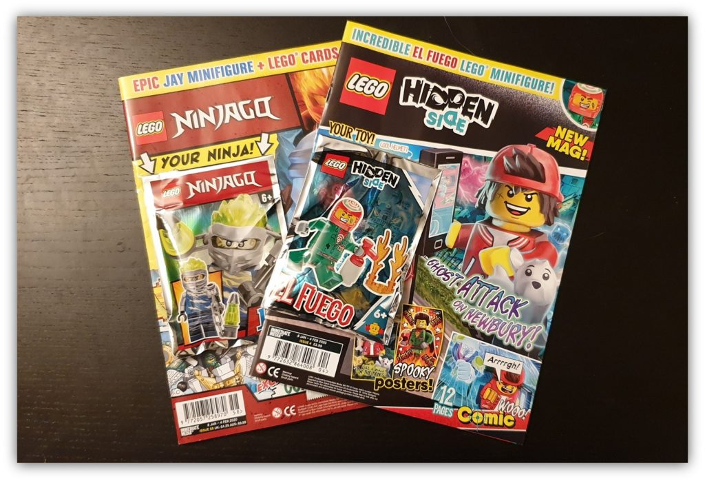 lego minifigure collection comics
