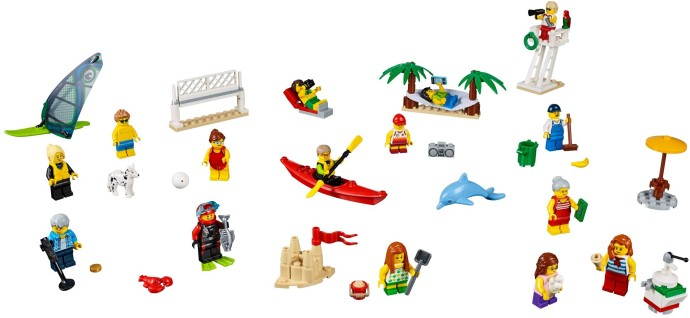 lego minifigure collection people packs