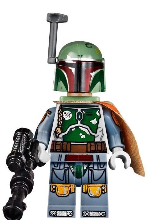 most detailed lego minifigures boba fett