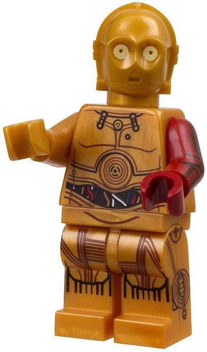 most detailed lego minifigures c3po