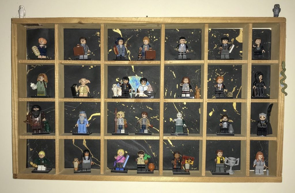 lego harry potter cmf display