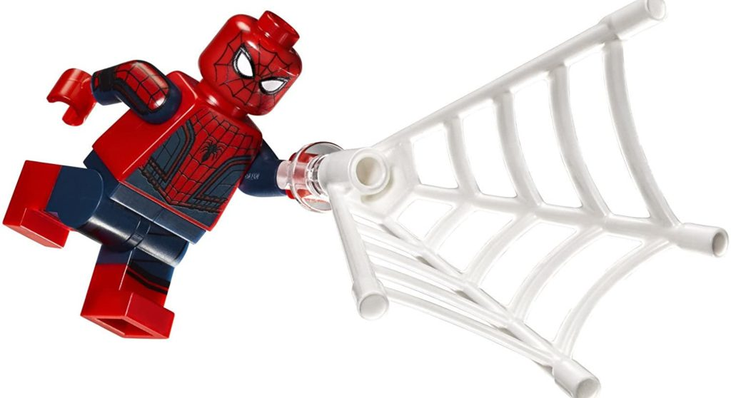 most detailed lego minifigures spiderman