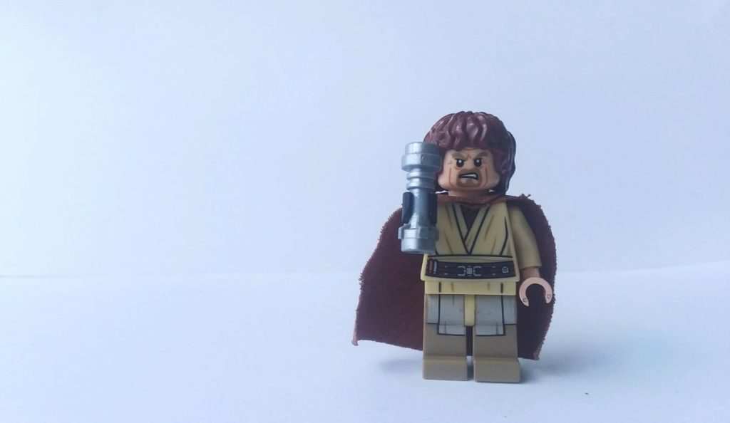custom lego star wars luke