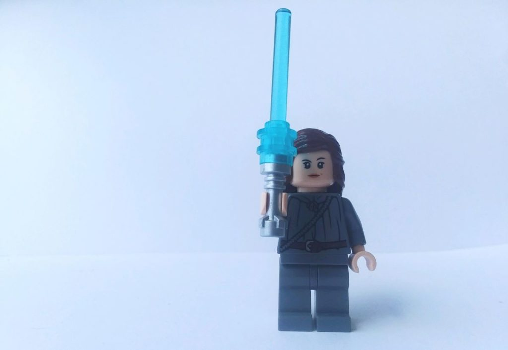 custom lego star wars rey