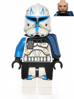 star wars lego minifigures captain rex