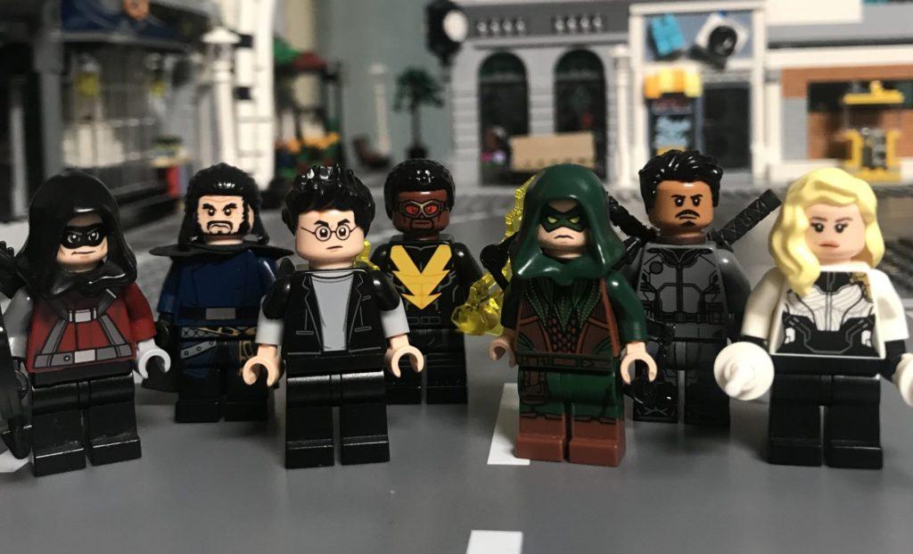 lego arrowverse